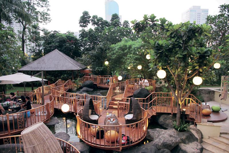 tempat hangout di jakarta jimbaran outdoor lounge