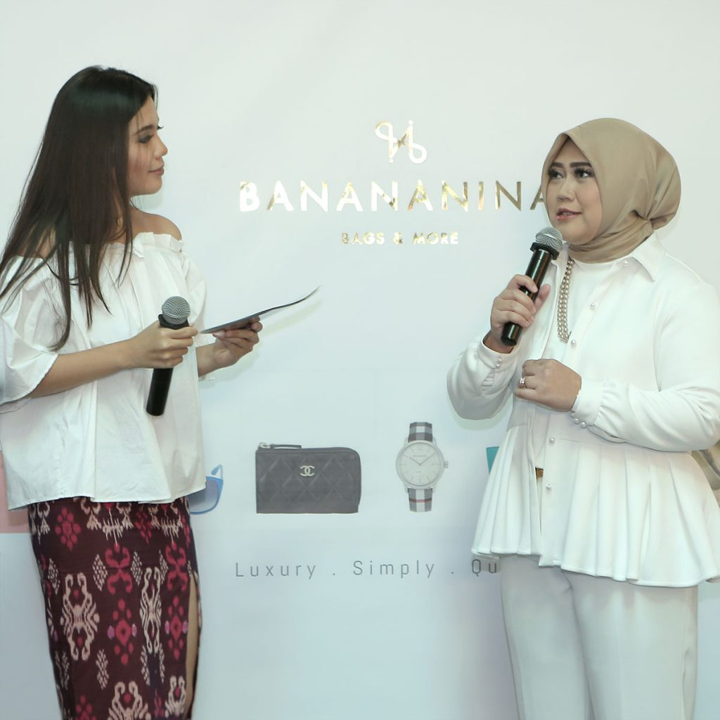the grand launching of banananina official website